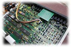 Roland GM-70 Internal Electronics