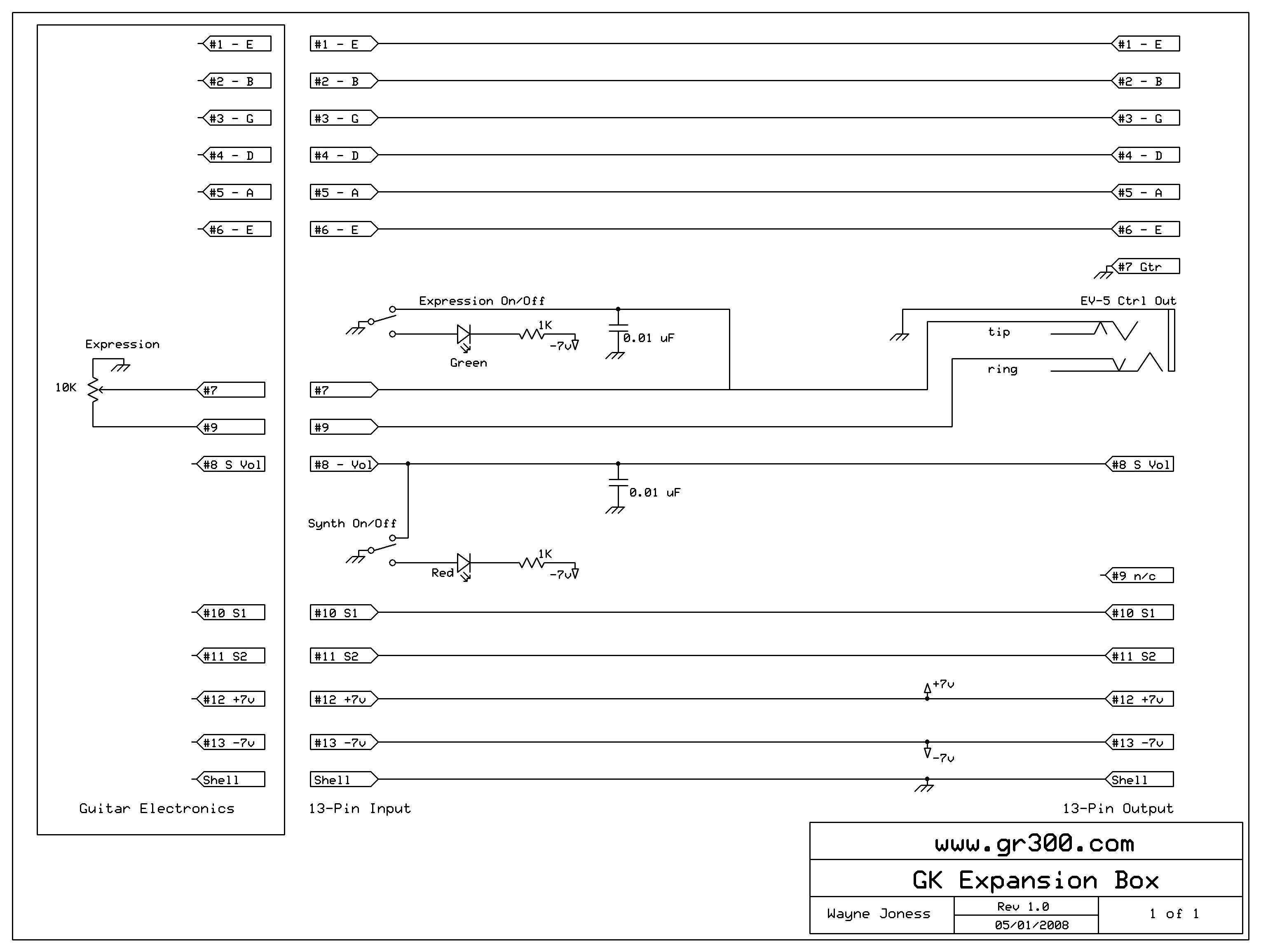 GK Expression Circuit internal gk kit gt3 installation questions roland ready strat wiring diagram at soozxer.org