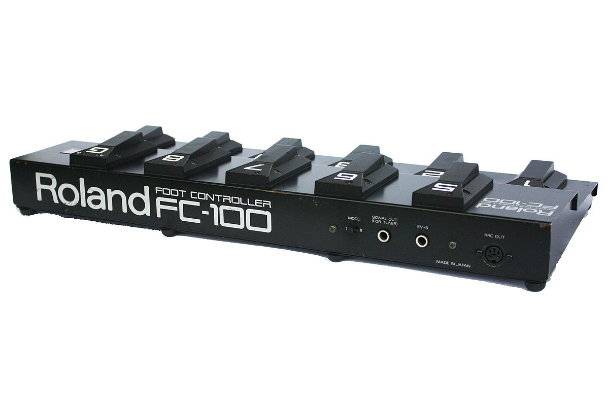 Roland FC-100 Features and Specifications - Vintage Foot Controller