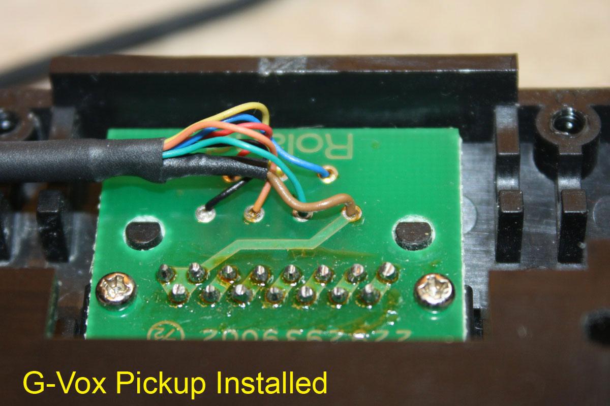 ... Roland GK-1 GVOX Repair