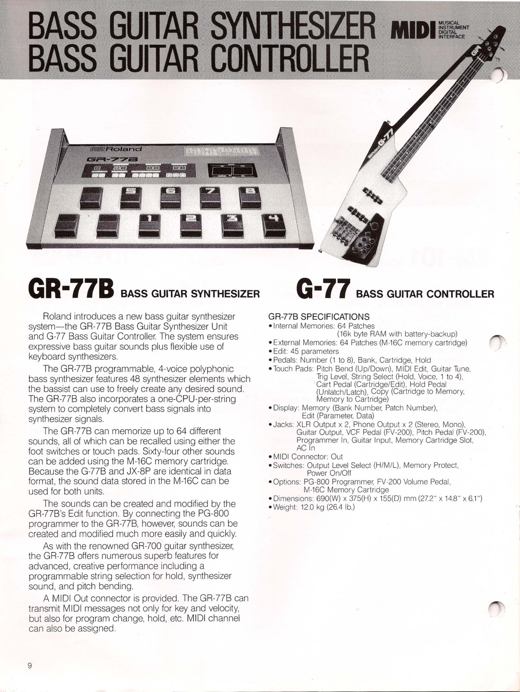 Summer Namm 1985 Equipment Spectacular Guitar Player Magazine Gibson Explorer Wiring Schematic Brochure