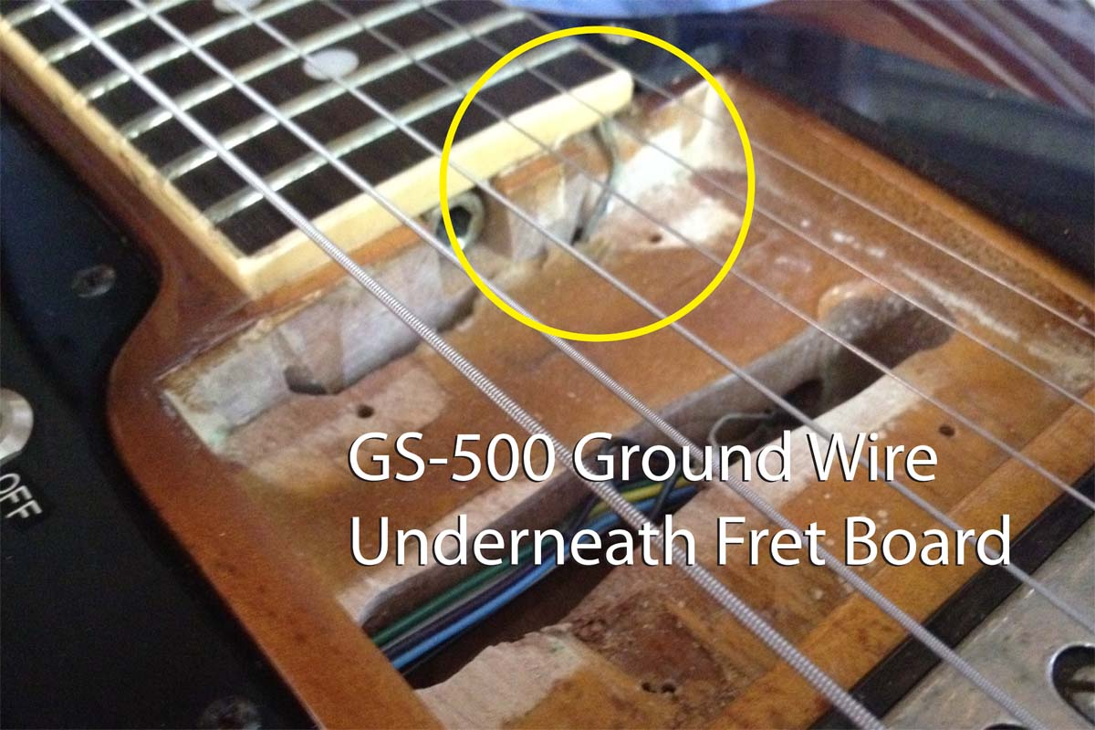 Roland Gs 500 Gr Vintage Analog 1977 Guitar Synthesizer Controller Fernandes Wiring Diagram Ground Wire