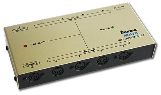 Ibanez Miu Midi Interface Unit