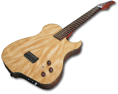 xotica ea 1 roland ready guitar with graph tech ghost midi piezo pickup system. Black Bedroom Furniture Sets. Home Design Ideas