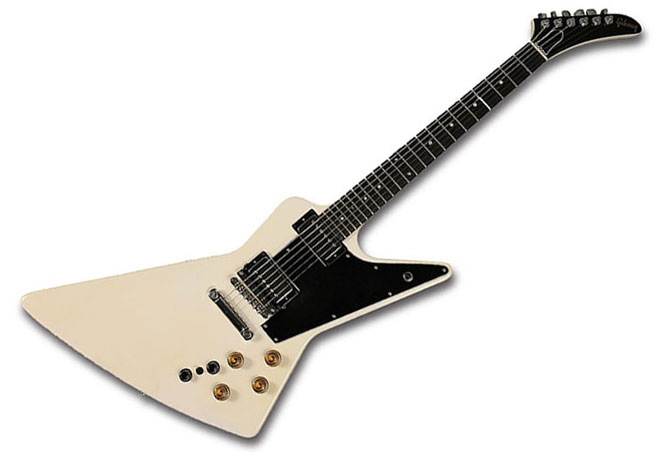 Gibson Explorer Custom Shop Vintage Roland Guitar Synthesizer