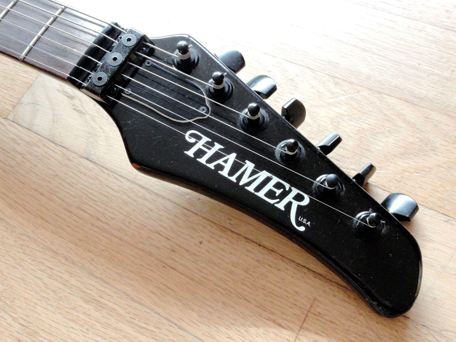 hamer a7 phantom vintage roland guitar synthesizer controller