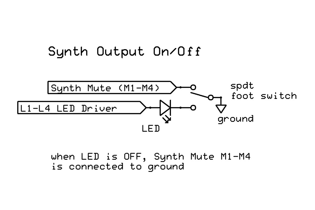 Of The Korg 700 Schematics With Coloured Codings For Easy Reading