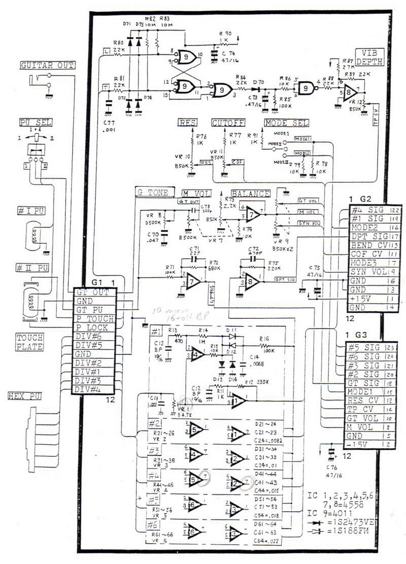 G 303 505 808 LPK_SCHEMATIC roland g 808 vintage guitar synthesizer controller roland ready strat wiring diagram at soozxer.org